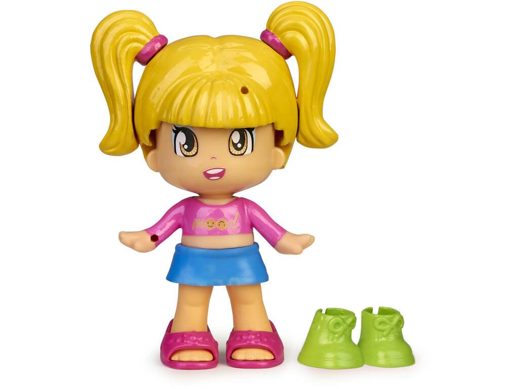 Pinypon Change My Shoes Figura Pelo Amarillo Famosa 700016209