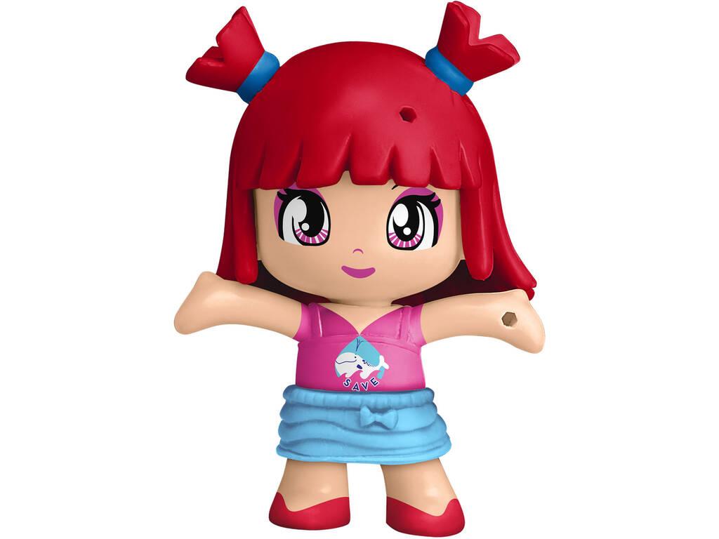 Pinypon Figura Serie 11 Pelo Rojo Famosa 700016215