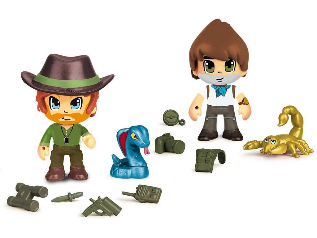 Pin y Pon Action Wild 2 Figuras y Animales 700016607