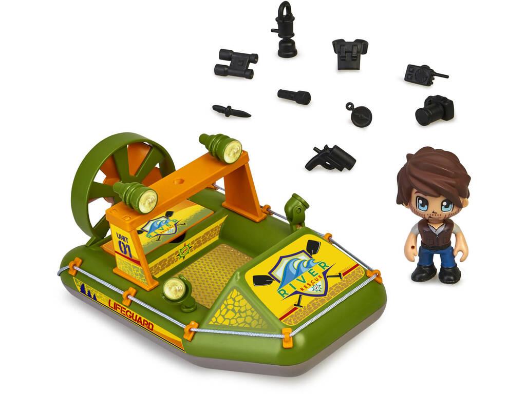 Pin y Pon Action Wild Bateau de Sauvetage Famosa 700016340