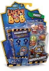 Lucky Bob Pack 5 Figuras con Temática Serie 1 IMC Toys 81246
