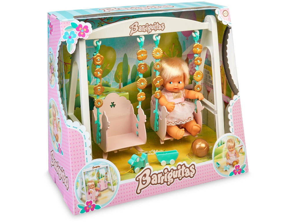 Barriguitas Columpio con Figura de Bebé Famosa 700016267