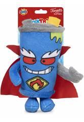 Superthings Peluche 12 cm. Mister King Serie 3 Famosa 760019496
