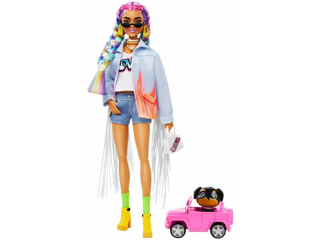 Barbie Extra Trenzas de Colores Mattel GRN29