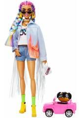 Barbie Extra Tranças de Cores Mattel GRN29