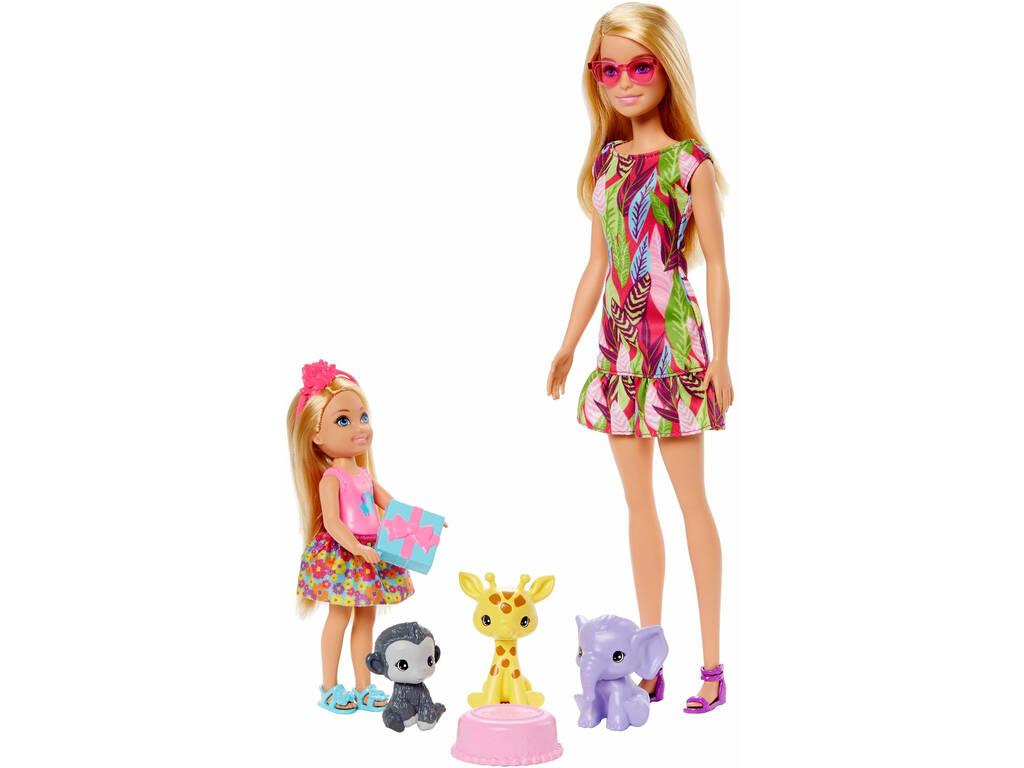 Barbie y Chelsea Cumpleaños Mattel GTM82