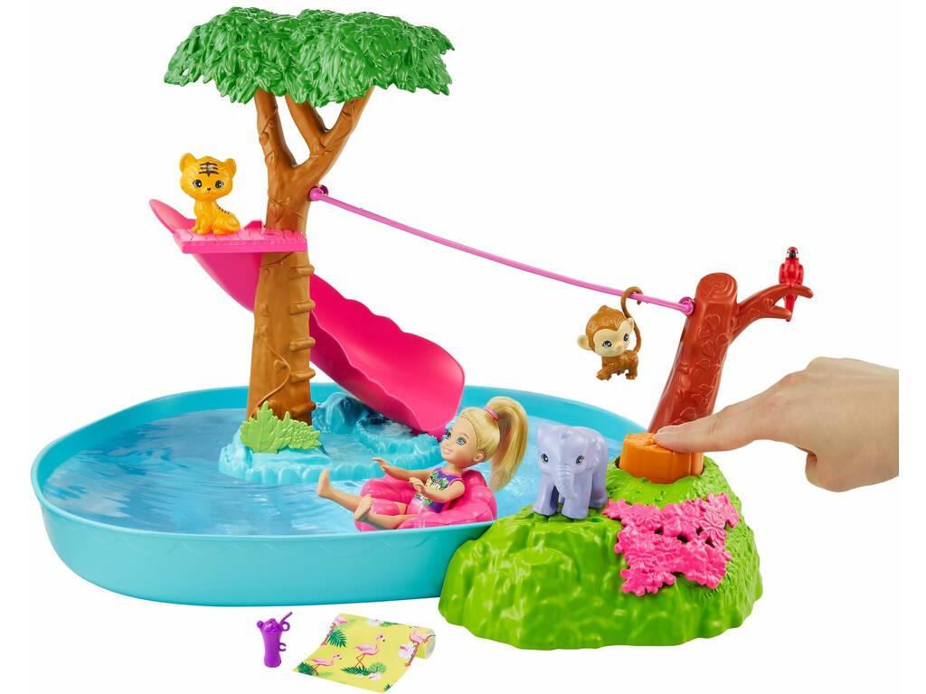 Barbie Famille Chelsea coffret la Rivière de la Jungle Mattel GTM85