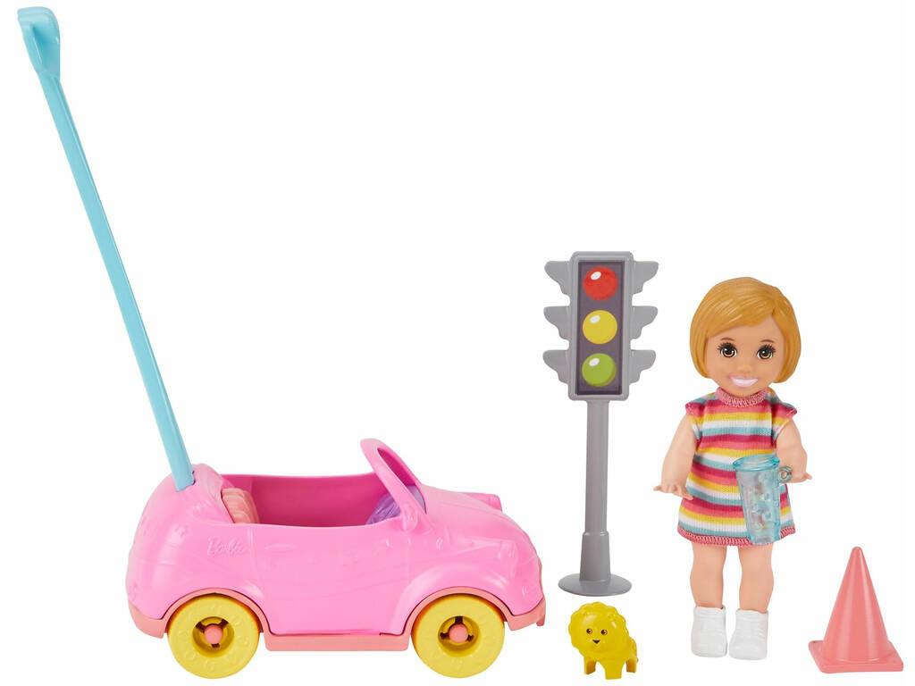 Barbie Skipper Muñeca con Coche de Juguete Mattel GRP17