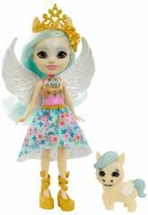 Enchantimals Muñeca Paolina Pegasus y Wingley Mattel GYJ03