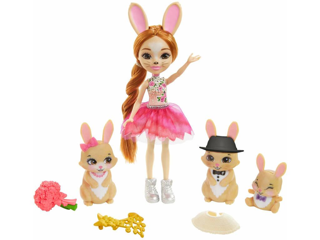 Enchantimals Royals coffret Famille et Lapins Mattel GYJ08