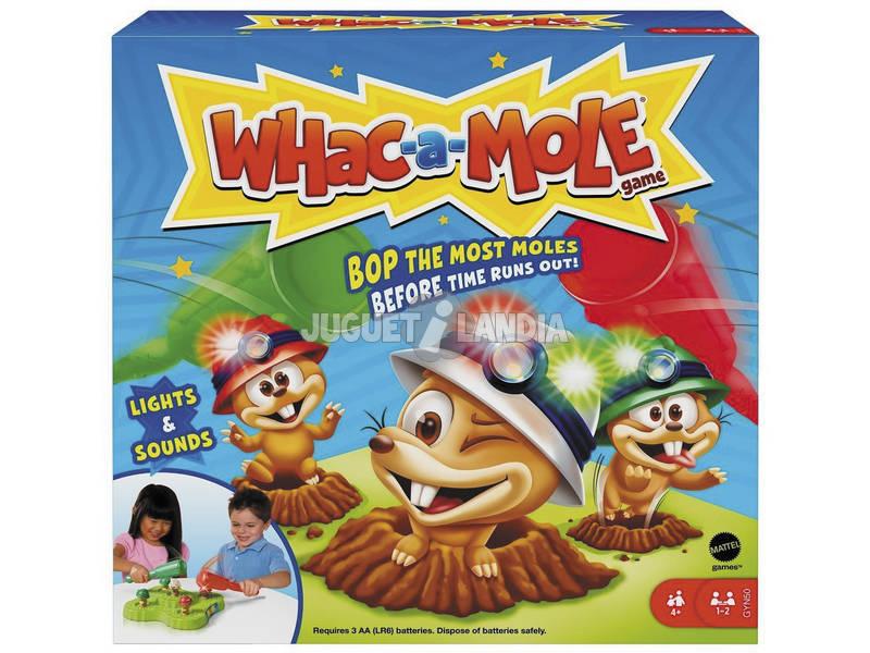 Juego Whac a Mole Mattel GVD47