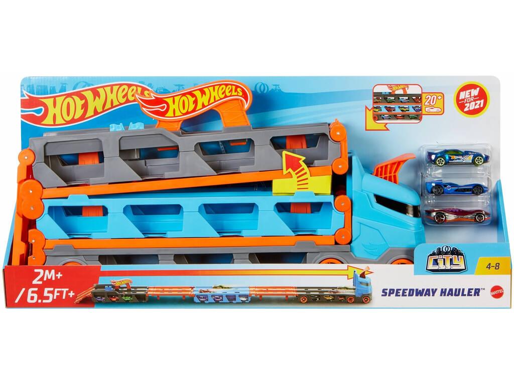 Hot Wheels Camión de Transporte Convertible Mattel GVG37