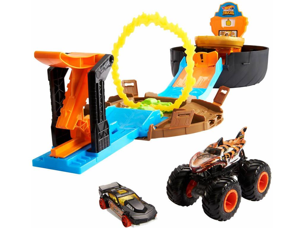 Hot Wheels Vehículos Monster Truck Rueda Acrobacias Mattel GVK48