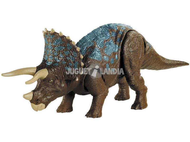 Jurassic World Attaque Sonore Triceratops Contrôle Total Mattel GVH66