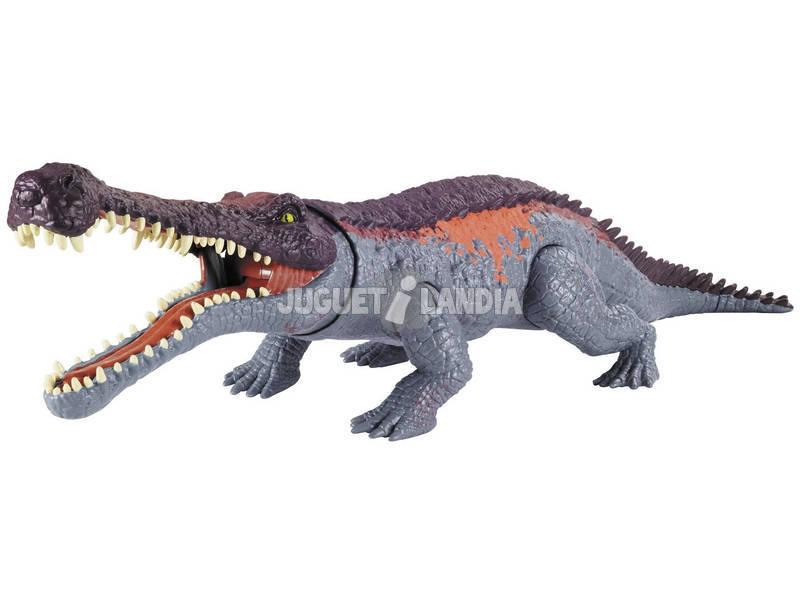 Jurassic World Sarcosuchus Mordeurs Géants Mattel GVG68