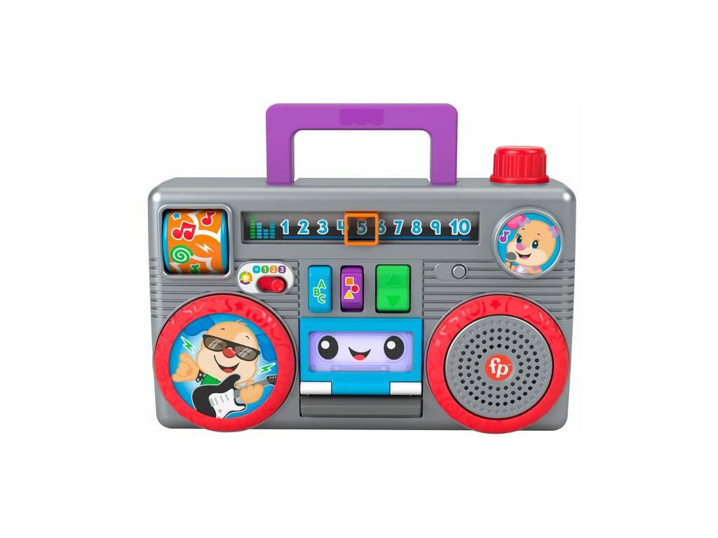 Fisher Price Radio Divertida Ríe y Aprende Mattel GYB98