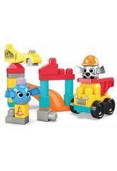 Megabloks Sitio de Construcción Mattel GRV37