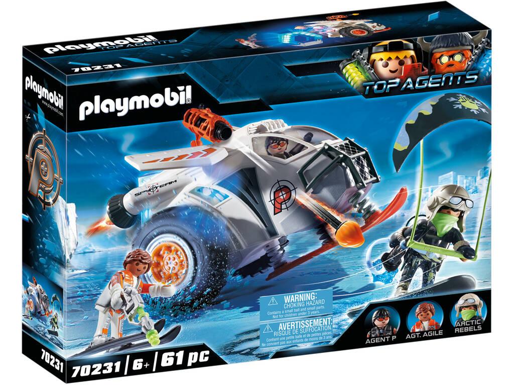 Playmobil TopAgents Spyteam Planeur de Neige 70231