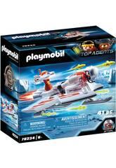 Agent Volant de la Spy Team Playmobil 70234