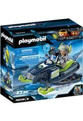 Playmobil TopAgents Artic Rebels Moto Hielo 70235
