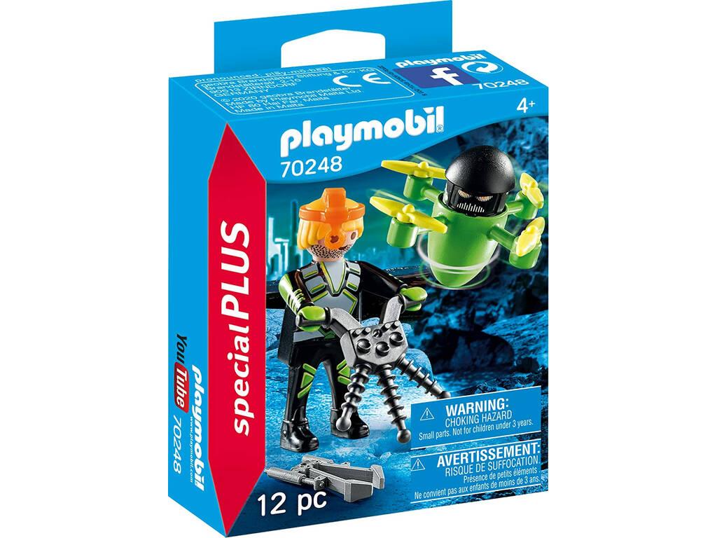 Playmobil Agente con Dron 70248