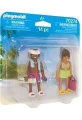 Playmobil Pareja de Vacaciones 70274