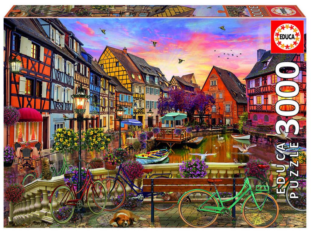 Puzzle 3000 Colmar, Francia Educa 19051