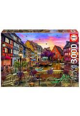 Puzzle 3000 Colmar, France Educa 19051