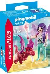 Playmobil fata con bebé drago 70299