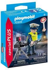 Playmobil Policia con Radar 70305