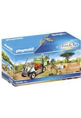 Playmobil Veterinario de Zoo con Coche Médico 70346