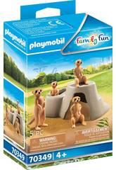 Suricates Playmobil 70349