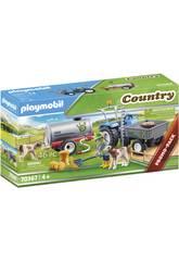 Playmobil Country Tracteur avec Réservoir d'Eau 70367