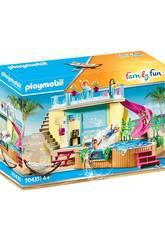 Playmobil Bungalow com Piscina 70435