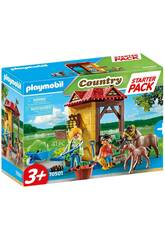 Playmobil Starter Pack Granja de Caballos 70501