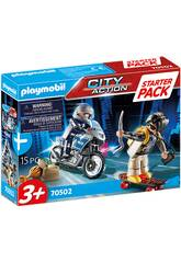 Playmobil Starter Pack Police Kit Supplémentaire 70502