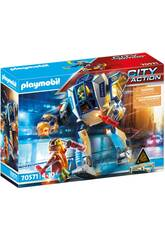 Playmobil City Action Robot Opération Spéciale 70571