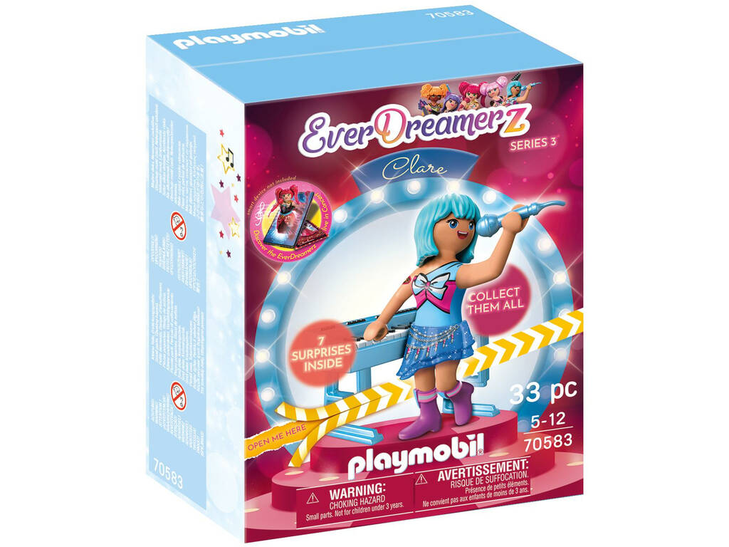 Playmobil Candy World Clare Music Wolrd 70583