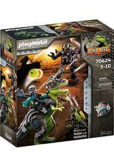 Playmobil Dinos T-Rex battaglia dei giganti 70624