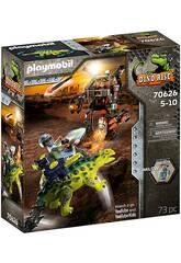 Playmobil Dinos Saichania combattente difesa 70626