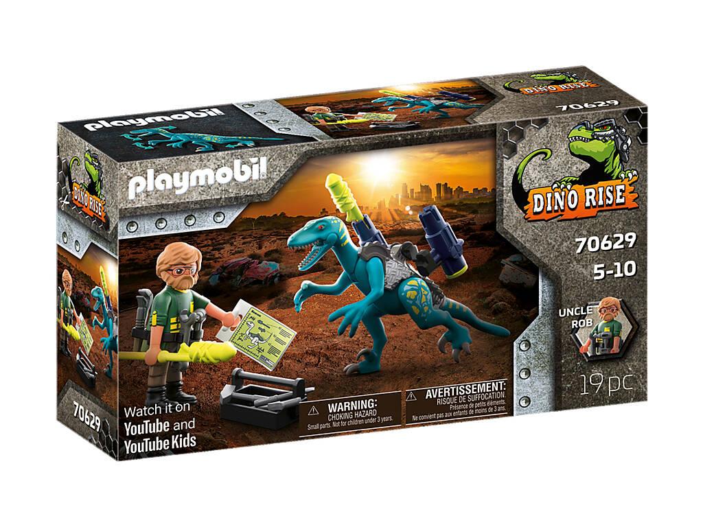 Playmobil Dinos Uncle Rob Battle Armament 70629