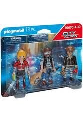 Playmobil City Action Set Figure Ladri 70670