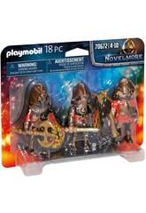 Playmobil Novelmore Set 3 Bandidos de Burnham 70672