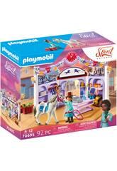 Playmobil Spirit Miradero Tienda Hípica 70695