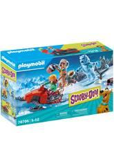 Playmobil Scooby-Doo Adventure avec Snow Ghost 70706