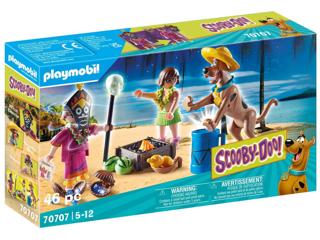Playmobil Scooby-Doo Aventura con Witch Doctor 70707