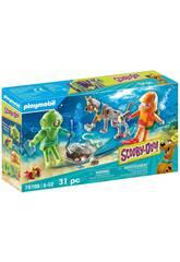 Playmobil Scooby-Doo Aventure avec le fantôme du capitaine Cutler 70708