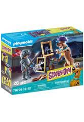 Playmobil Scooby-Doo Aventura com Black Night 70709