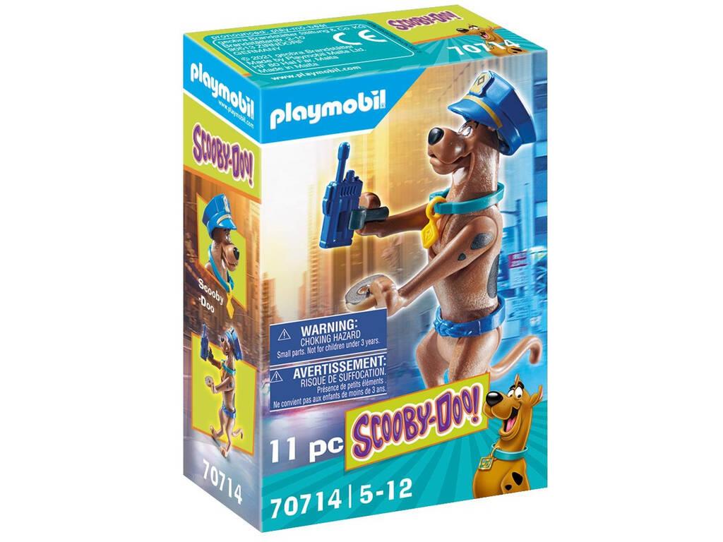 Playmobil Scooby-Doo Figura Coleccionable Policía 70714