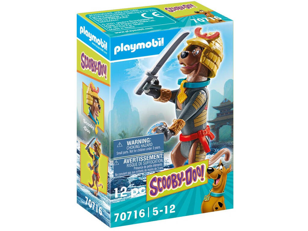 Playmobil Scooby-Doo Figura Coleccionable Samurái Playmobil Iberica 70716